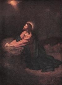 Christ in Gethsemane by Heinrich Ferdinand Hofmann