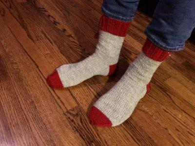 I Knitted Socks