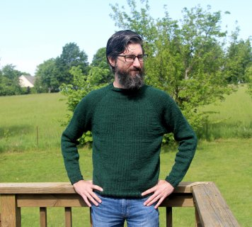 I Knitted a Sweater